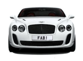number 1 plates
