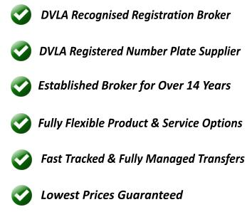 number plate services